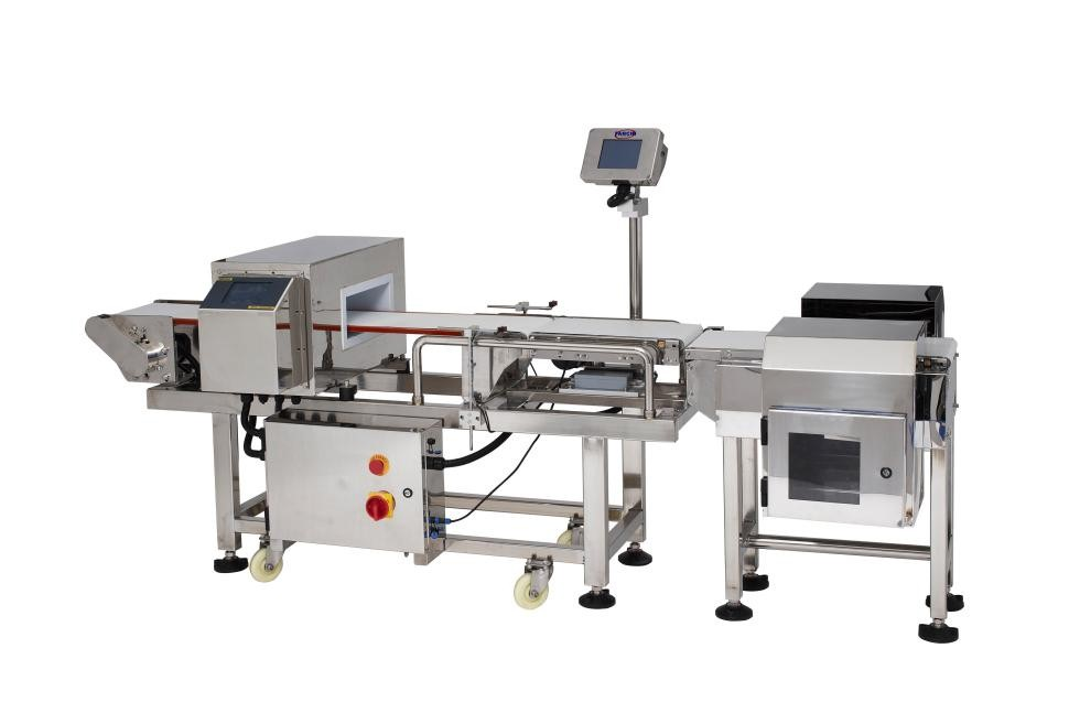 Combo Metal Detector and Checkweigher